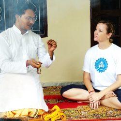 RISHIKESH INDIA : YOGA RETREAT PROGRAM WITH YOGACHARYA DR. NAVEEN PANDEY