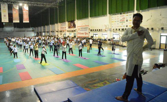 Yoga for Technocrats at TMU Moradabad U.P