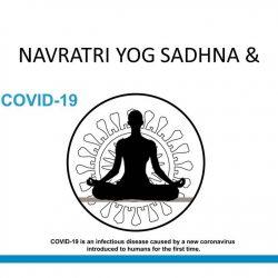 Navratri Yog Sadhna and Coronavirus pandemics