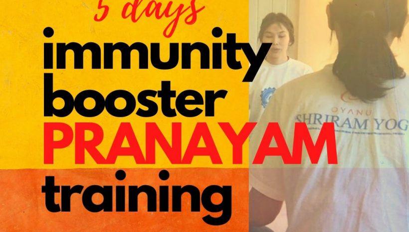 5 Days Immunity Booster Pranayam Training Camp Online