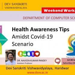 Covid-19 Health Awareness Webinar