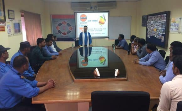 Yoga and Health awareness program at Indian Oil Corporation Limited Roorkee